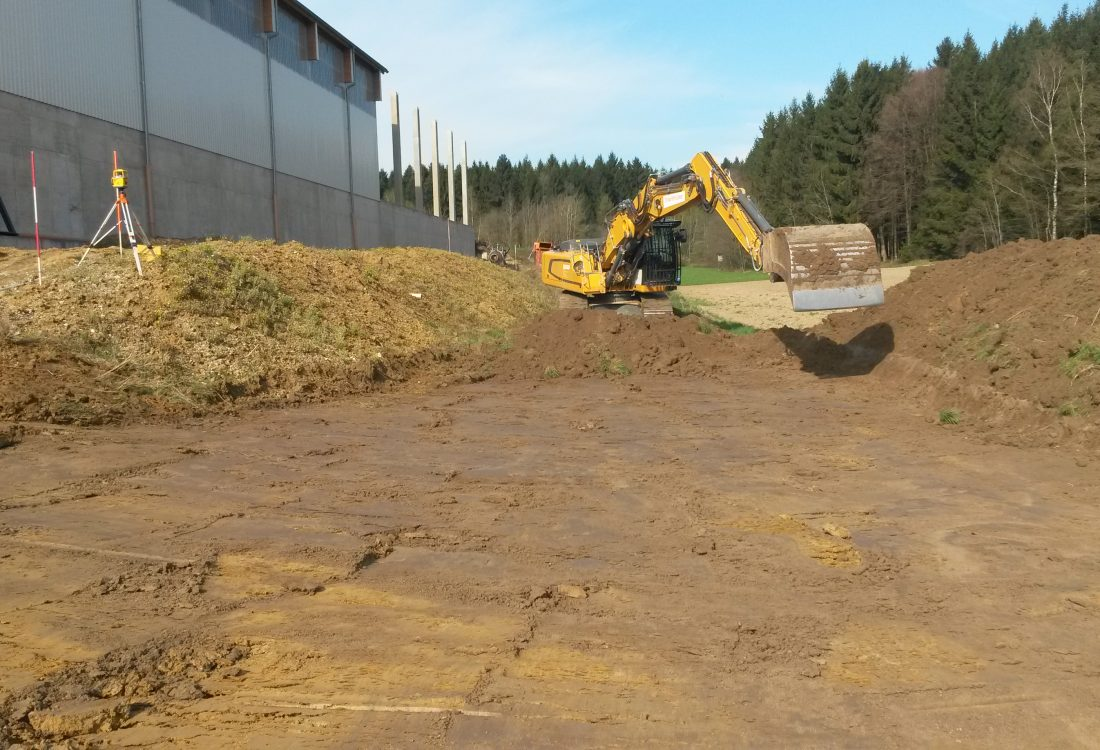 Neubau Regenrückhaltebecken