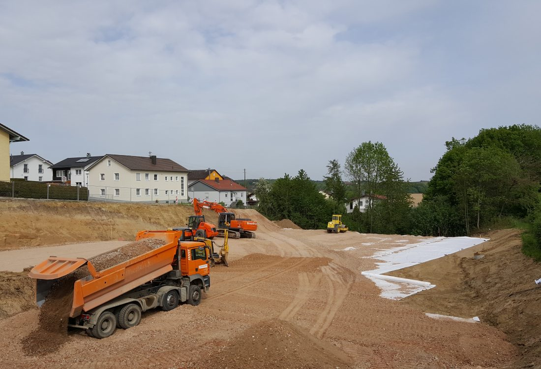 Neubau Wohnanlage, Arnstorf