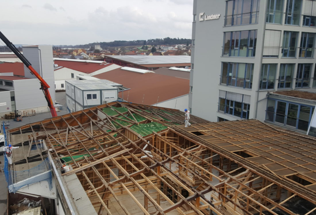 Abbruch Gebäude Lindner