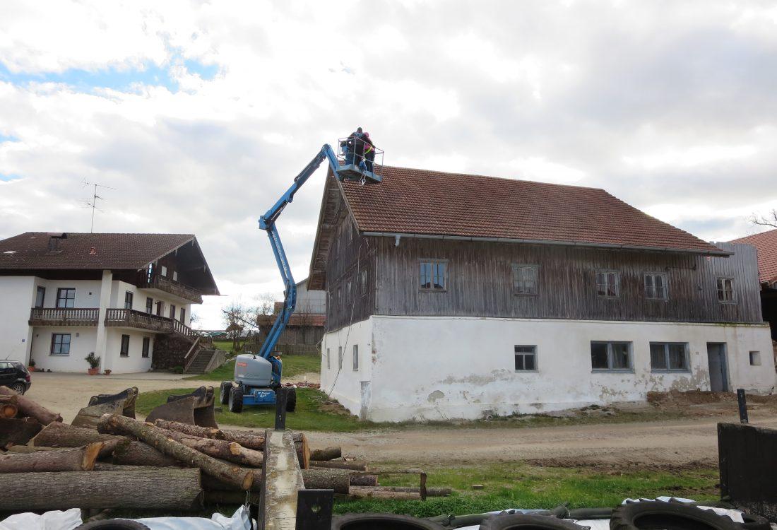 Abbruch landw. Gebäude, Arnstorf