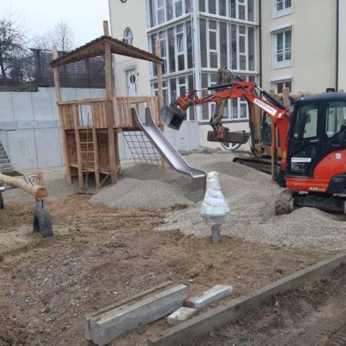 Erdarbeiten KITA Arnstorf